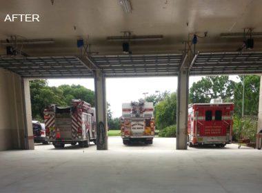 Fire Station Concrete Prep
