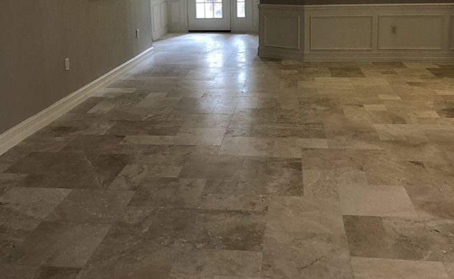 Finished Travertine View