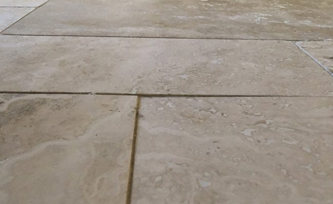 Travertine Lippage